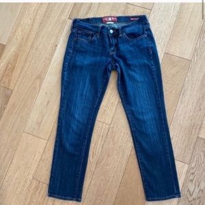 Lucky brand Zoe straight cropped jeans size 27/4